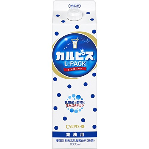 〔飲料〕 カルピス 希釈用 1Lパック 6本  (CALPIS)(1000ml)(業務用) アサヒ飲料