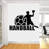 63x43cm DIY benutzerdefinierte Name und Farbe 3D Handball