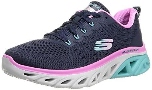 Skechers Damen Glide-Step Sport-New Appeal Sneaker, Blau, 41 EU
