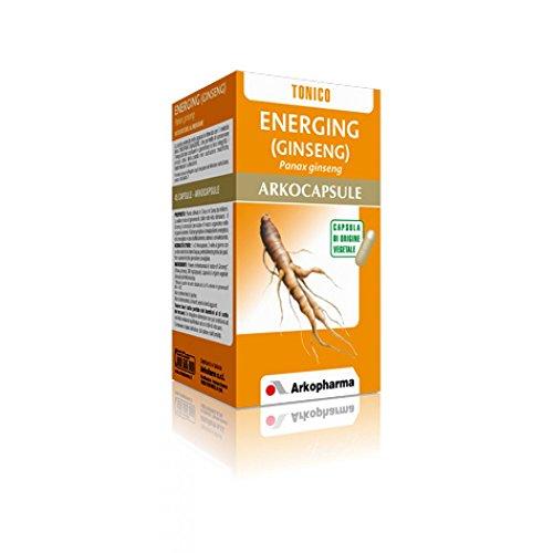 Arkofarm 8981 Arkocapsule Ginseng Integratore Tonificante Mentale, Defaticante, 45 Capsule