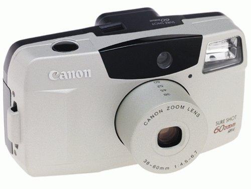 Canon SureShot 60 Zoom 35mm Camera
