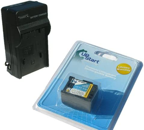 Replacement for Nippon regular agency Canon VIXIA HFM30 mart and - Charger Compatib Battery