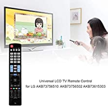 Calvas Universal LCD TV Remote Control Replacement for LG AKB73756510 AKB73756502 AKB73615303 AKB73275618 AKB7375650460LA620S