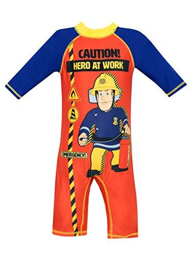 Feuerwehrmann Sam Jungen Badeanzug 98