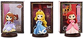 Little Spells Princess Doll Tangled Tiana Ariel Belle Tiger Lily Action Figure 3Pcs/Set P2 (6cm, Multicolor)