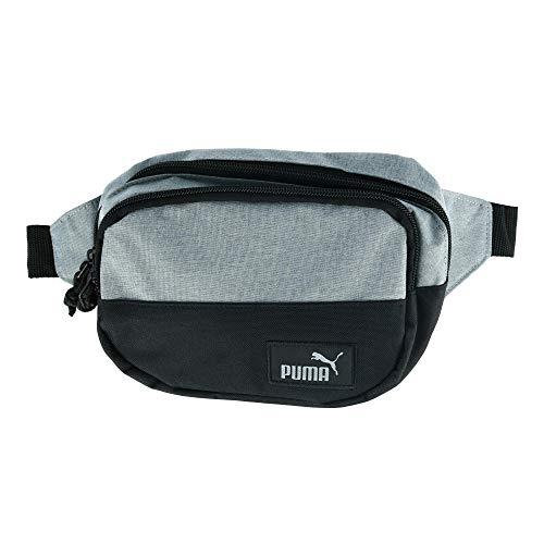Puma - Riñonera deportiva con múltiples bolsillos