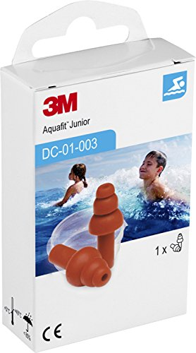 3M DC01003 E-A-R Aquafit Gehörschutzstöpsel für Kinder