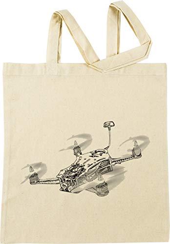 Rennen Drohne Beige Einkaufstasche