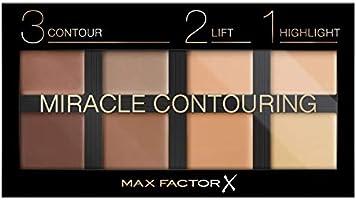 Max Factor Miracle uniwersalna paleta konturów twarzy, 10 sztuk, konturowanie i rozświetlacz w jednym, dla idealnego...
