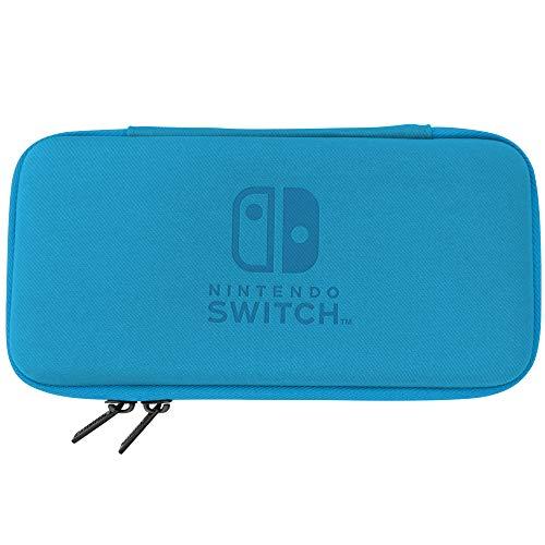 HORI Slim Tough Pouch - Blue for Nintendo Switch Lite - Azul Edition