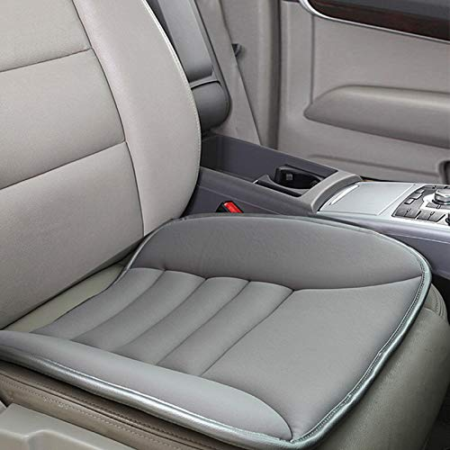 Big Ant Car Seat Cushion Pad Memory Foam Seat Cushion,Pain Relief Memory Foam Cushion Comfort Seat Protector for Car Office Home Use,Gray 1PC