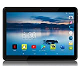 MANJEE Android Tablet 10 inch with 2.5D Curved Glass IPS Screen, Unlocked Wi-Fi 3G Phablet 4 GB RAM 64 GB Storage Dual...