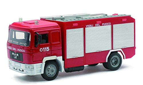 New Ray - 15083 F - Véhicule Miniature - Die Cast Camion Pompier Man F2000