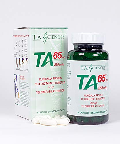 T.A. Sciences | TA-65 Supplement | 1x90 Capsules | 250 U | Free MCT Oil Powder 3