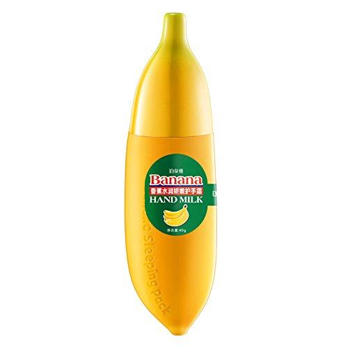 KAYI Natürliche Pflanze Banane Handcreme Feuchtigkeit Hand Lotion