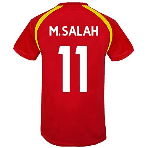Liverpool FC - Jungen Trainingstrikot - Offizielles Merchandise - Rot - Salah 11-12-13 Jahre