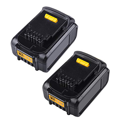 2Pack New 20V Replacement Battery for Dewalt Max XR DCB201 DCB203 DCB204 DCB206 DCB206-2 DCB180 DCD985B DCB200 DCD771C2 DCS355D1 DCD790B Dewalt DCD/DCF/DCG/DCS Series