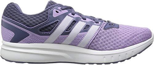 adidas Damen Galaxy 2 W Laufschuhe, Weiß/Violett (Brimor/Ftwbla/Morsup), 44 EU