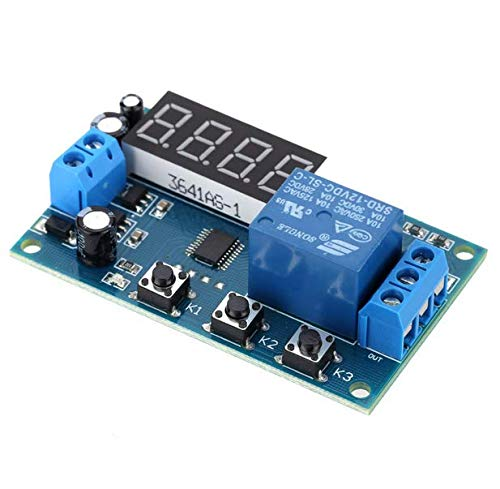 KKmoon Multifunktions Delay Time Modul Switch Control Relay Zyklus Zeitrelais DC 24V/12V¡­