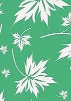 igsticker ポスター ウォールステッカー シール式ステッカー 飾り 841×1189㎜ A0 写真 フォト 壁 インテリア おしゃれ 剥がせる wall sticker poster 003913 フラワー 植物 緑 白
