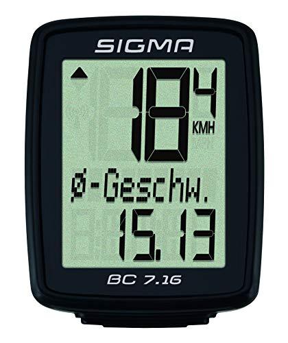 Sigma Sport Fahrradcomputer BC 7.16 - 3