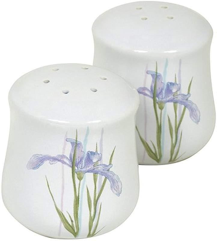 Corelle Coordinates Shadow Iris Salt And Pepper Shaker Set