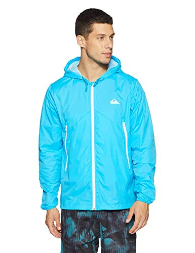 Quiksilver - Chaqueta para Hombre, Color Neon Blue, Talla L