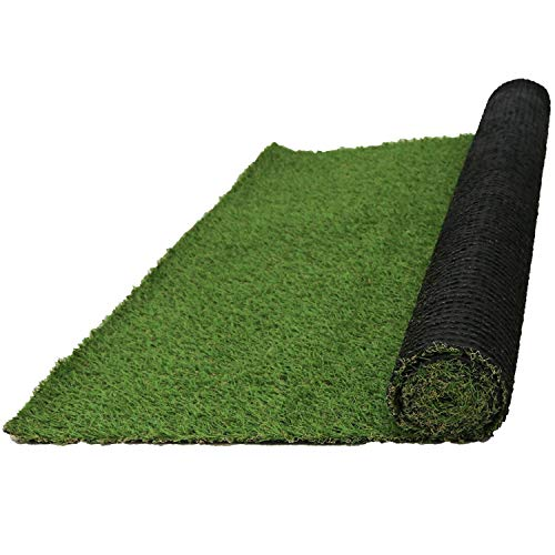 10 PCS Artificial Grass Mat Kunstrasen Matte Dick Fake Turf Rasen Decor