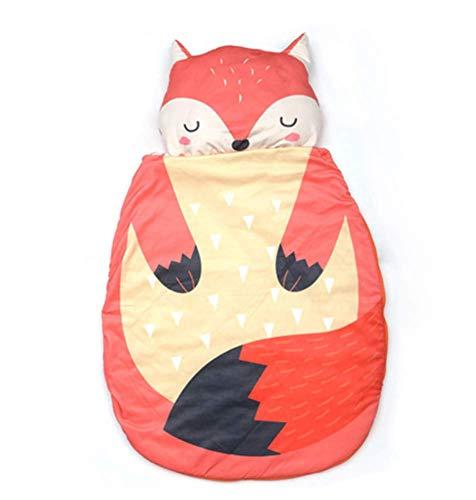 TYPING Manta De Bebé Recién Nacido Saco De Dormir Cálido De Invierno para Bebés Edredón Animal Penguin para Niños Pequeños Algodón Puro Es Suave Niños De 0 A 3 Años,Rojo,90x65cm