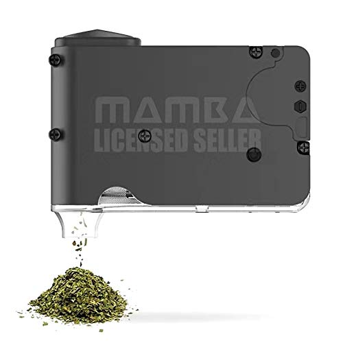 Mamba Chewy Portable Battery Herb Grinder - Charcoal Gray Colour