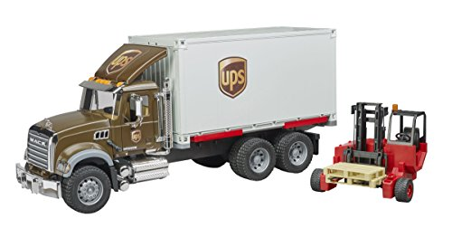 Bruder 2828 Mack Granite UPS Logistik - LKW