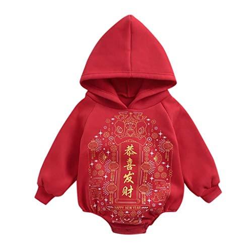 TWISFER Drucken Chinesischer Schriftzeichen Baby Body Neugeborene Hoddies Sweatershirt Pullover Hohe Qualität Baby Strampler Unisex Baby Sport Langarm Bodysuit Jumpsuit