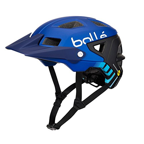 Bollé Trackdown MIPS Cascos Ciclismo, Unisex Adulto, Navy Gradient, 58-62 cm