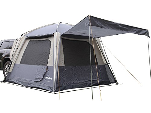 KingCamp Melfi Plus SUV Car Tent 3 Seasons 4-6 Person Multifunctional, Suitable Camping Traveling Family Outdoor Activities