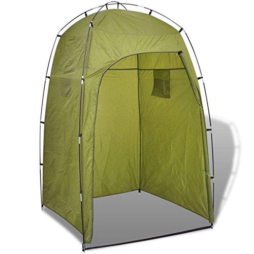 vidaXL Duschzelt Umkleidezelt WC Toilettenzelt Beistellzelt Lagerzelt Camping