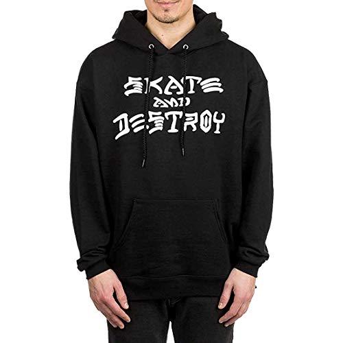 Thrasher Herren Kapuzenpullover Skate And Destroy Hoodie