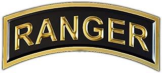 Chrome Domz Army Rangers - Gold & Black Tab Wall Art One Size Chrome