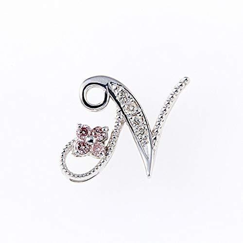 ピンクダイヤモンドペンダントヘッド 計0.05ctUP & ダイヤモンド計0.02ctUP [18KWG] 専用ケース付