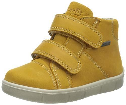 Superfit Baby Jungen ULLI Sneaker, (Gelb 60), 26 EU