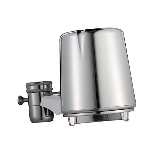 Culligan FM-25 Faucet Mount Filter with Advanced Water Filtration, Chrome Finish 3 FM-25 Faucet Mount Filter with Advanced Water Filtration, Chrome Finish - 2 PACK