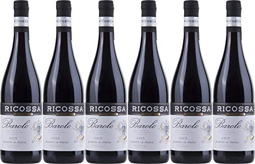 6x Barolo 2015 - Weingut Ricossa, Barolo - Rotwein