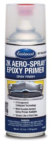 Eastwood Catalyzed Technology 2K AeroSpray Epoxy Durable Primer Gray 12 Oz