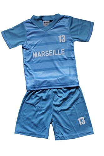 laubamode Ensemble Marseille Short et Maillot-Bleu-Bebe garçon (3 Ans)