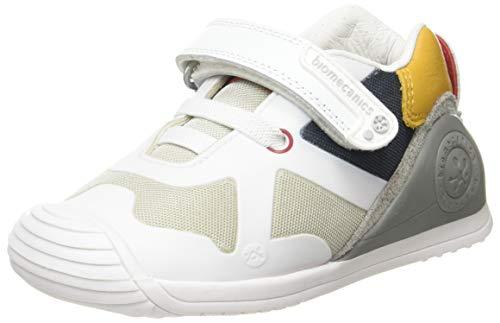 Biomecanics 202153, Zapatos de Primeros Pasos para Bebés, Blanco (Blanco), 24 EU