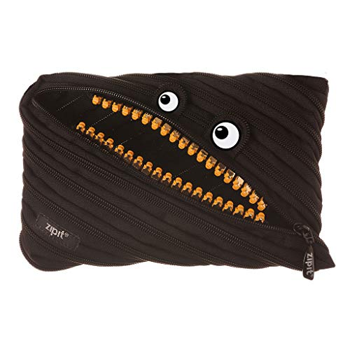 ZIPIT Grillz Big Pencil Case, Black