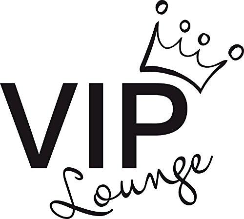 GRAZDesign Wandtattoo Jugendzimmer Deko - Wandaufkleber Wohnzimmer VIP Lounge - Büro Einrichten mit Wandtattoo Motiv / 56x50cm / 720450_50_070