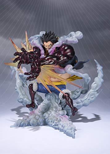 BANDAI- Monkey D Luffy Gear 4 Leo Bazooka Figura 18 Cm One Piece Figuarts Zero, Multicolor (BDIOP551146)