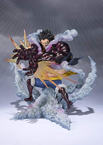 Bandai Tamashii Nation FiguartsZero One Piece Monkey D. Luffy Fourth Gear Leo Bazooka Statua