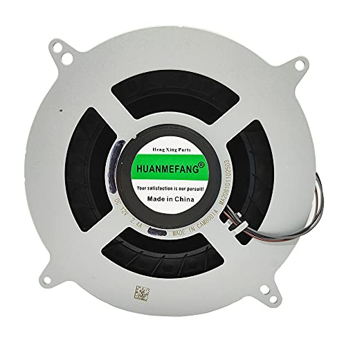 HUANMEFANG Replacement New CPU Cooling Fan for Sony Playstation 5 PS5 Series 12V 2.4A 23 Blades 12047GA-12M-WB-01 Fan