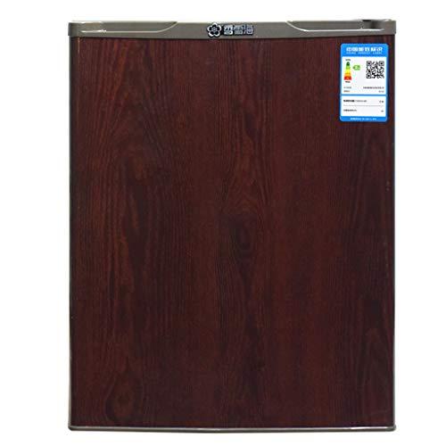 Wood Grain Compact Refrigerator